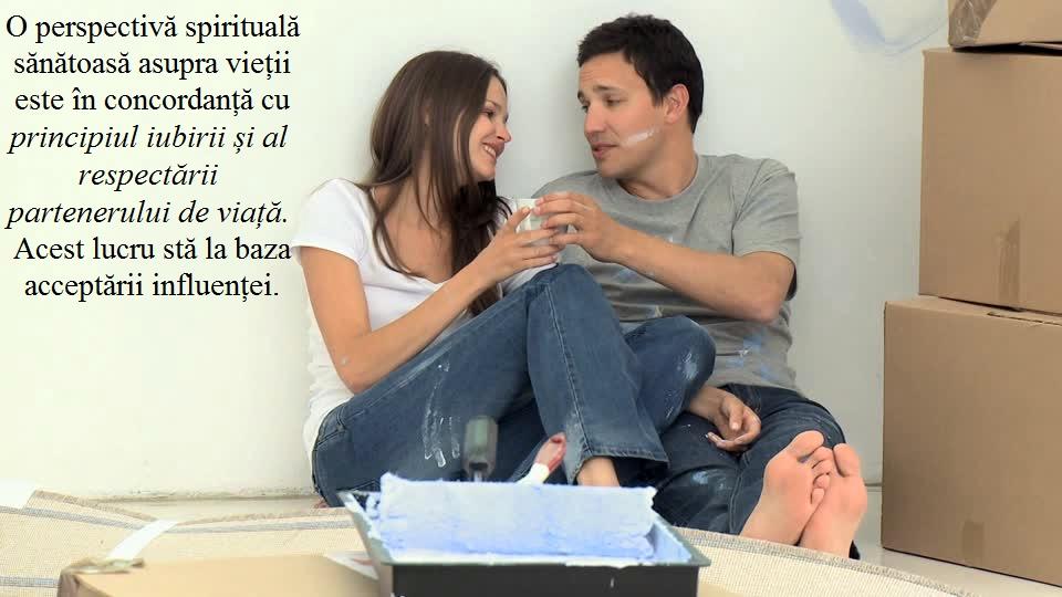 accepta influenta - INGREDIENTUL nr. 4 al relațiilor SĂNĂTOASE - Acceptă influența partenerului de viață