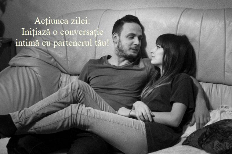 conversati intime - Un minut pentru relația ta – Mai 10- Arta conversației intime
